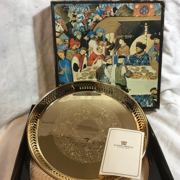 Scadia Other - Scandia Gould/Gold Present 24 karat Gold Plating